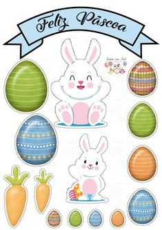 Inspire your Party ® Diy And Crafts, Crafts For Kids, Paper Crafts, Easter Printables, Printable Labels, Easter Party, Birthday Decorations, Gift Bags, Bunny