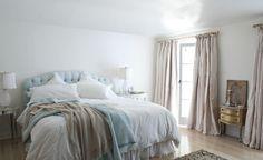 61 enkla och snabba sätt att förnya ditt sovrum - Sköna hem especially love the draperies