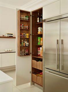 These are the best examples of kitchen s featuring pantry (s) in the cabinet (s). They're SO well done! | Design -er: Roundhouse