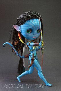 Ooak Dolls, Blythe Dolls, Art Dolls, Avatar Halloween Costume, Avatar Babies, Creepy Baby Dolls, Chibi, Avatar Fan Art, Crazy Toys