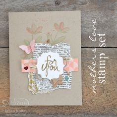 Cute Cards using Stampin' Up!'s Mother's Love Stamp Set! - Krista Frattin