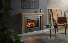 Stûv 6-in #stuv6 #françoischevalier #stuv #woodburning #inset #design #photography Interior, Home, Old Fireplace, Wood Burning Stoves Living Room, Modern, Modern Stoves, Minimalist Design, Fireplace, Fireplace Inserts