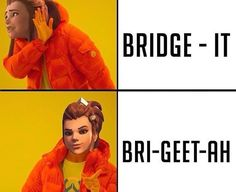 Baguetteah? Hmm I thought she was Swedish not French.  Screm  _________________________________________ Credit goes to: @_oversalt_ (DM if we credited the wrong person)  __________________________________________ Send in some Overwatch art!  . . Follow the OW team! @misfortune___ @princessciaraxx @savagetigress __________________________________________ . . . . . . . . .  Tags: (ignore) #overwatch #ow #overwatchleague #overwatchmemes #overwatchfunny #overwatchgame #owgame #meme #memes…