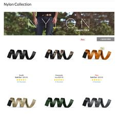 Shop our new Nylon collection at missionbelt.com