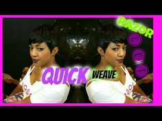 Quick weave Braids - YouTube