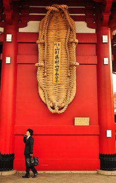 Tokyo Temple. Asakusa, Japan