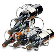 Adega de Vinho Brinox 2310104 para 6 Garrafas - Inox