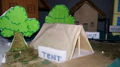 MODEL OF TYPES OF HOUSES using