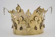 Norwegian bridal crown made by Andreas Blytt, from Brudekrone, Norsk Folkemuseum