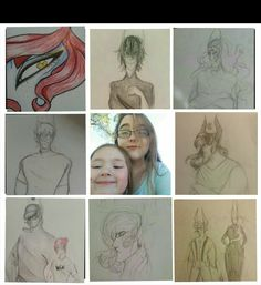 I done did it  im probobly the only person who doesnt look like their art also excuse my poor editing skills and my face I haven't taken a picture of myself in months and that is the only one I have so pls ignore the small child that is my niece