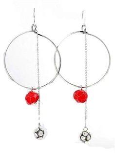 Crystal Ball Hoop Earrings D7 Clear Red Silver Tone Fish ... https://www.amazon.com/dp/B00EGOP89E/ref=cm_sw_r_pi_dp_x_BHx5ybHWVHFHG
