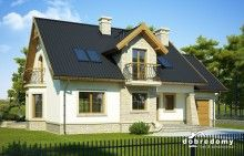 Telimena II 1G - Dobre Domy Flak & Abramowicz Home Fashion, Shed, Outdoor Structures, Mansions, House Styles, Outdoor Decor, Home Decor, Houses, Projects