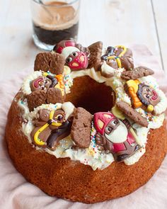 Saint Nicolas, Gingerbread Cookies, Kids Meals, Holiday Recipes, Food And Drink, Sweets, Homemade, Baking, Dinner