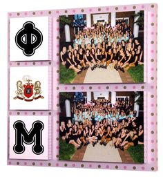 We should start making these for every bid day or greek week champ pictures!!