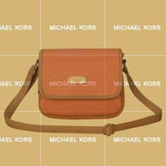 I Will Tell You A Good News:Your Favorite Michael Kors Signature Logo Medium Orange Crossbody Bags Is Discounting Now!