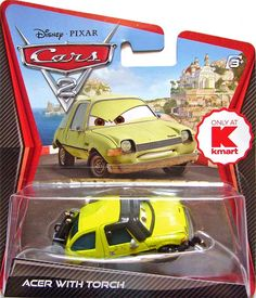 Disney cars 2 - Acer with torch