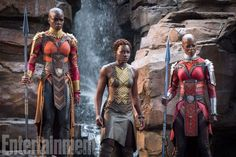 New Character Portraits And Details For 'Black Panther'