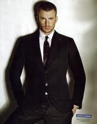 Chris Evans....HOLY ___ Christian Grey!!