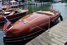 wood boat chris craft