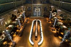 Paul Hamlyn Hall Champagne Bar in the Royal Opera House by Royal Opera House Covent Garden, via Flickr