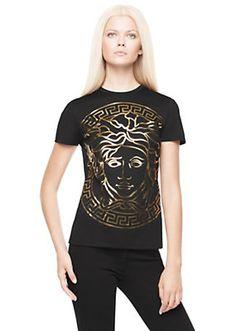 Versace - Medusa Head embossed t-shirt