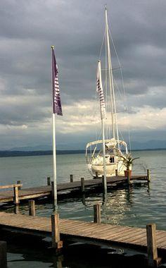 Segeltörn Starnberger See - Anleger: Nordbad Tutzing #EchtEinladend