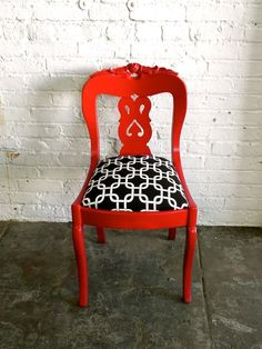Red Ornate Chair