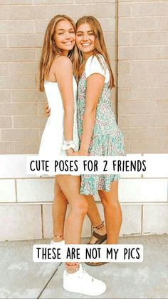 Cute Poses For Pictures, Cute Friend Pictures, Best Friend Pictures, Friend Pics, Best Friends Whenever, Best Friends Shoot, Cute Friends, Best Photo Poses, Picture Poses