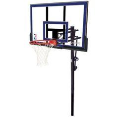 Spalding Inground Basketball Goals   88355 50 Inch Acrylic Backboard
