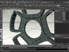 Maya 3D car modeling part 2 - YouTube