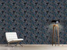 Design #Tapete Rusalka Träumt Nachts Von Paisley