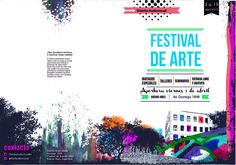 Agenda para festival de arte urbano- Diseño Gráfico 2 -Mazzeo