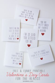 Funny Printable Valentine's Day Cards