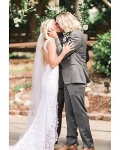 Savannah Soutas and Cole LaBrant share a look into their Temecula, California wedding designed with a boho-rustic vibe. Savannah Soutas, Cole And Savannah, First Kiss Picture, Sav And Cole, Everleigh Rose, Cute Family, Family Goals, Dream Wedding Dresses, California Wedding