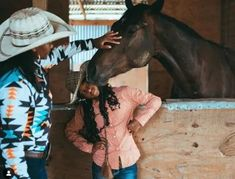 """""""I come from a place where black folks work the land, tend to animals, rope, ride horses, and identify as cowboys. This is a narrative rarely told by the media,"""" says photojournalist and designer Ivan McClellan, also known as @eightsecs on Instagram. Cowgirl And Horse, Diversity, Cowboys, Promotion, Horses, Photography, Photograph, Fotografie, Photoshoot"""