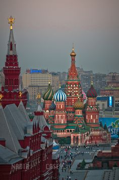 St Basil's, Moscow, Russia - Beautiful - Moscow was Fun!