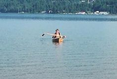Canadian canoeing