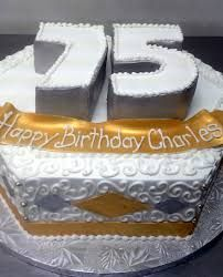 Image Result For 75th Birthday Cakes Women