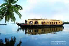 Kerala houseboat trip ....