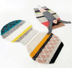 My gift is...design:   Gifts for… the lazy bones crew | Mangas carpet, Patricia Urquiola, Gan, 2011    #mygiftisdesign @purquiola