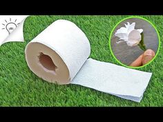 3 Ways to Make Flowers with Toilet Paper - DIY 3 Ways to Make Flowers with Toilet Paper - Easy Craft Toilet Paper Flowers, Tissue Paper Flowers, Paper Roses, Handmade Flowers, Diy Flowers, Fabric Flowers, Diy Paper, Paper Crafts, Paper Flower Tutorial