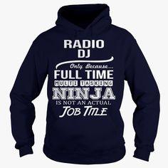 Awesome Tee For Radio Dj