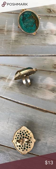 Super cool ring! Super cool fashion ring...adjustable back to fit any size! Jewelry Rings