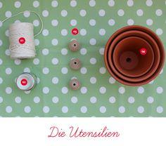 Eine hängende Osterdeko für draußen heute von EinStückvomGlück | SoLebIch.de