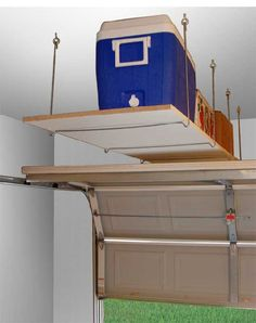 Garage Storage Ideas | ... Garage Storage: Here Are the Steps: Overhead Garage Storage Ideas With