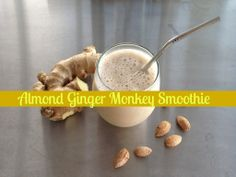 This smoothie just sounds fun, doesn't it? The Almond Ginger Monkey is one of my favorite ways to start the morning. It is so creamy and delicious, while also packed with good-for-me ingredients, like hemp seeds and ginger, which are both highly anti-inflammatory. It's also a cinch to make, as these are ingredients that you. . .