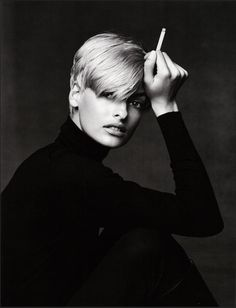 Linda Evangelista by Patrick Demarchelier From the book Images et mode au Petit Palais
