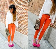 Colored pants!!