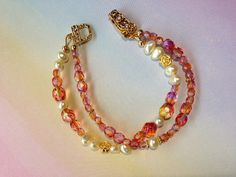 Multistrand Freshwater Pearls and Crystals with by MAGICALUNIVERSE