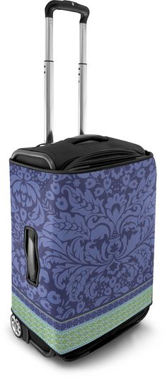 Violet Flowers luggage cover by Coverlugg 651b111f00b4f